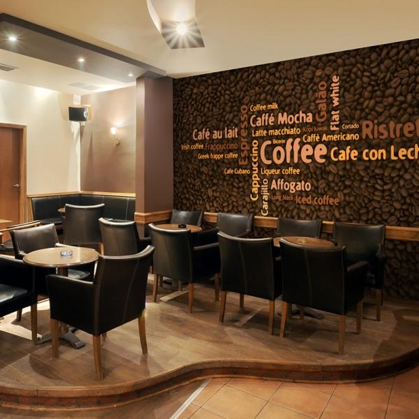 Fototapeta - Latte, espresso, cappucino... (200x154 cm) A0-LFTNT0484