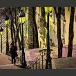 Fototapeta - Lonely walk through Montmartre A0-F4TNT0048-P