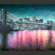 Fototapeta - Malowany Nowy Jork A0-XXLNEW010260