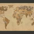 Fototapeta - Mapa odkrywców A0-F4TNT0137-P