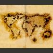 Fototapeta - Mapa poszukiwaczy złota A0-F4TNT0128-P