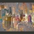 Fototapeta - Miasto we mgle A0-XXLNEW010381