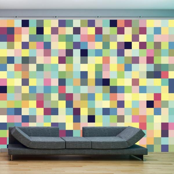 Fototapeta - Millions of colors (200x154 cm) A0-LFTNT0653