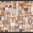 Fototapeta - Modrzewiowa mozaika A0-XXLNEW011009