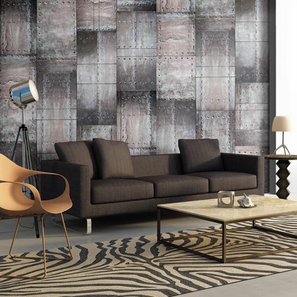 Fototapeta - Mosiężna ściana (50x1000 cm) A0-WSR10m504