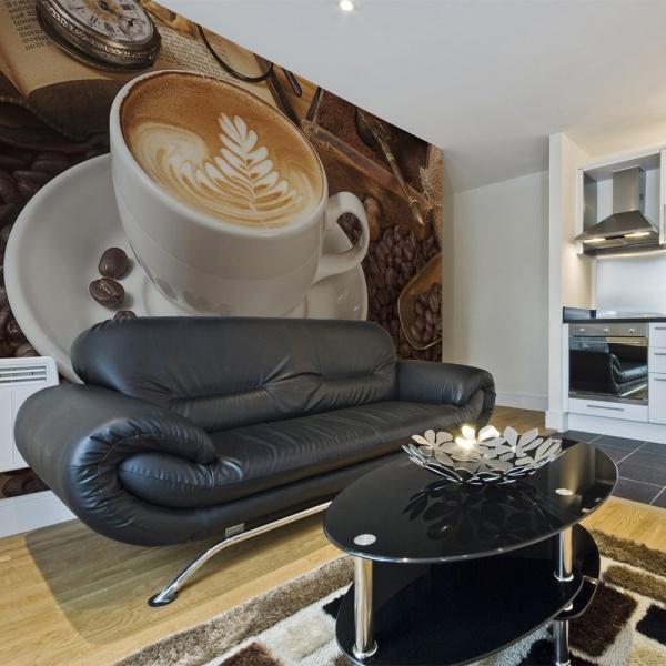 Fototapeta - Może kawy? (450x270 cm) A0-F4TNT0521