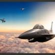 Fototapeta - Myśliwce F16 A0-XXLNEW011129