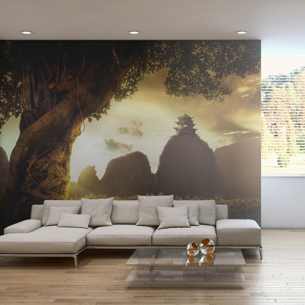Fototapeta - Mysterious China (200x154 cm) A0-LFTNT0744