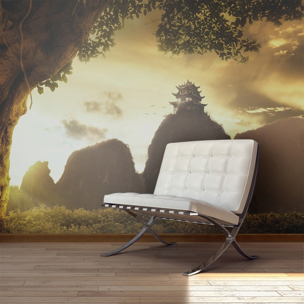 Fototapeta - Mysterious China (450x270 cm) A0-F4TNT0062-P