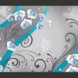 Fototapeta - Niebieskie orchidee - wariacja A0-XXLNEW010175