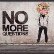 Fototapeta - No more questions A0-XXLNEW010326