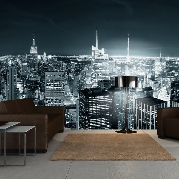 Fototapeta - Nocne życie Nowego Jorku (550x270 cm) A0-F5TNT0017-P