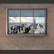 Fototapeta - Nowojorskie okno A0-XXLNEW010205