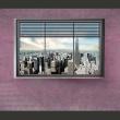 Fototapeta - Nowojorskie okno II A0-XXLNEW010204