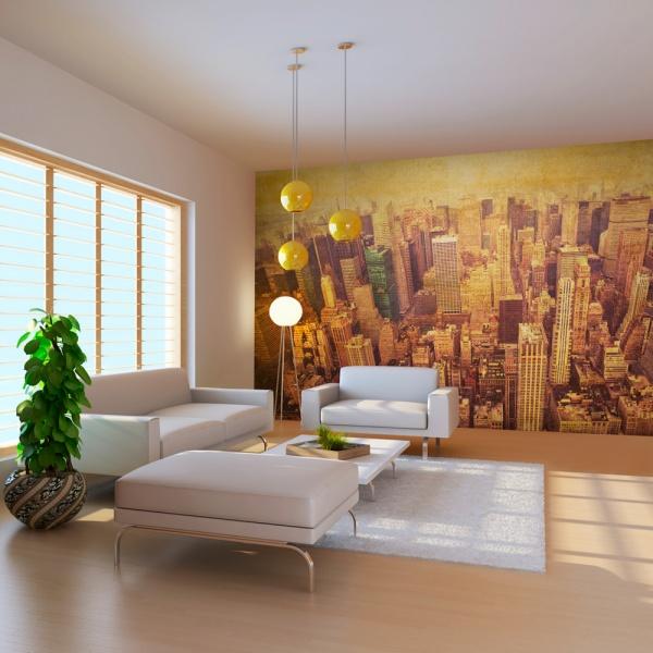 Fototapeta - Nowy Jork w sepii (550x270 cm) A0-F5TNT0055-P