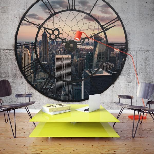 Fototapeta - NYC Time Zone (400x270 cm) A0-F45TNT0016-P