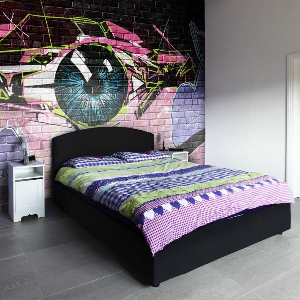 Fototapeta - oko (graffiti) (200x154 cm) A0-LFTNT0598