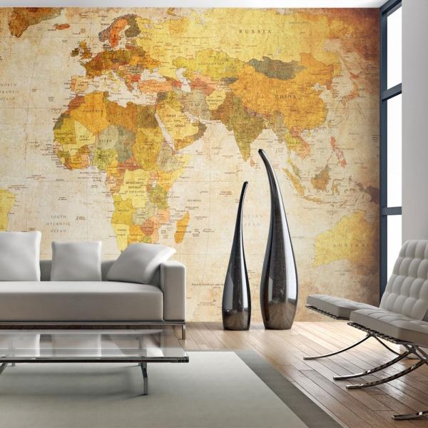 Fototapeta - Old globe (450x270 cm) A0-F4TNT0514