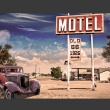 Fototapeta - Old motel A0-XXLNEW010196
