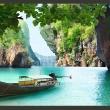 Fototapeta - Opuszczona łódź A0-XXLNEW010248