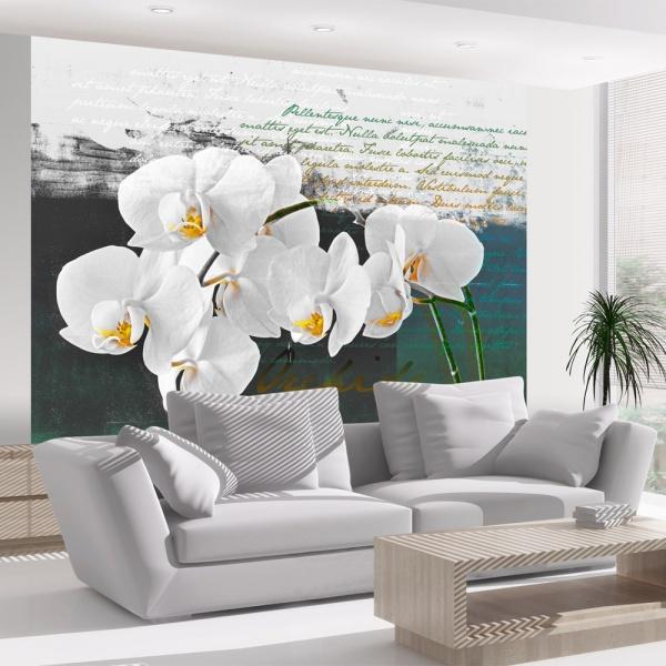 Fototapeta - Orchidea - inspiracja poety (200x154 cm) A0-LFTNT0545