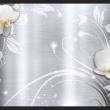 Fototapeta - Orchidee na stali A0-XXLNEW010856