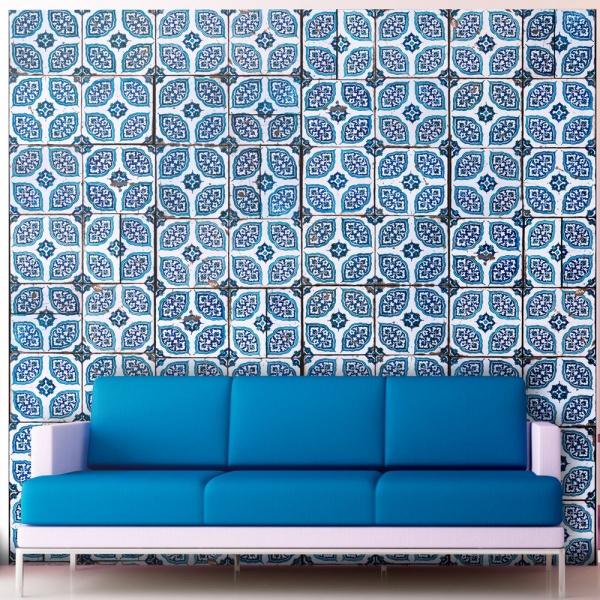 Fototapeta - Orientalna mozaika (50x1000 cm) A0-WSR10m190-P