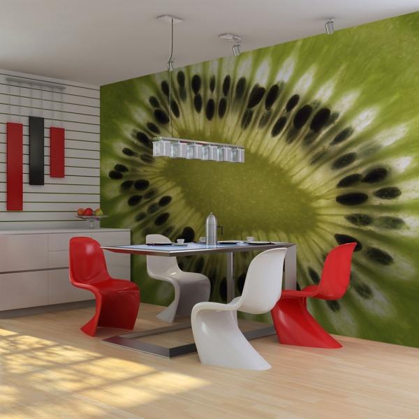 Fototapeta - owoce: kiwi (200x154 cm) A0-LFTNT0872