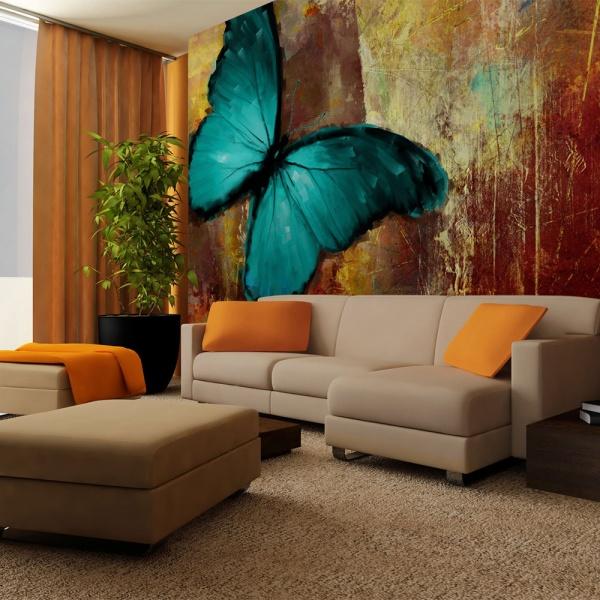 Fototapeta - Painted butterfly (400x270 cm) A0-F45TNT0011-P