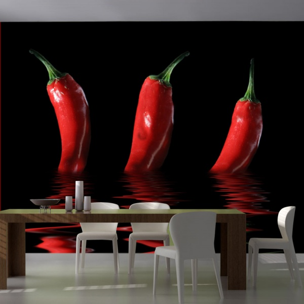 Fototapeta - Papryka chili (200x154 cm) A0-LFTNT0880