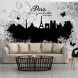 Fototapeta - Paris is always a good idea - black and white A0-XXLNEW010429