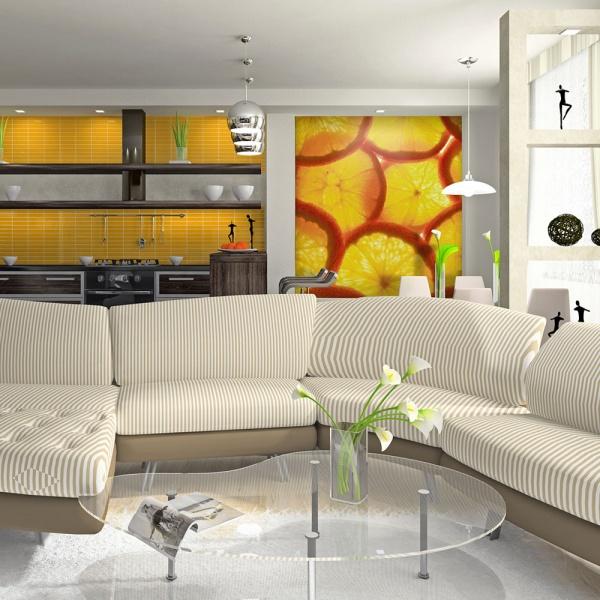 Fototapeta - Plasterki pomarańczy (200x154 cm) A0-LFTNT0875