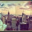 Fototapeta - Pocztówka z Nowego Jorku A0-XXLNEW010246