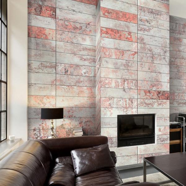 Fototapeta - Pomarańczowy marmur (50x1000 cm) A0-WSR10m400-P