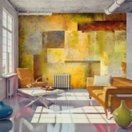 Fototapeta - Pomarańczowy odcień ekspresji (300x210 cm)