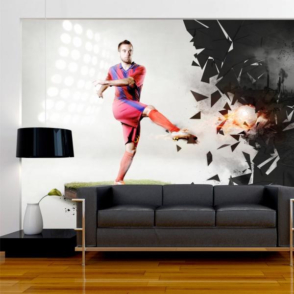 Fototapeta - Potęga futbolu (300x210 cm) A0-XXLNEW010255