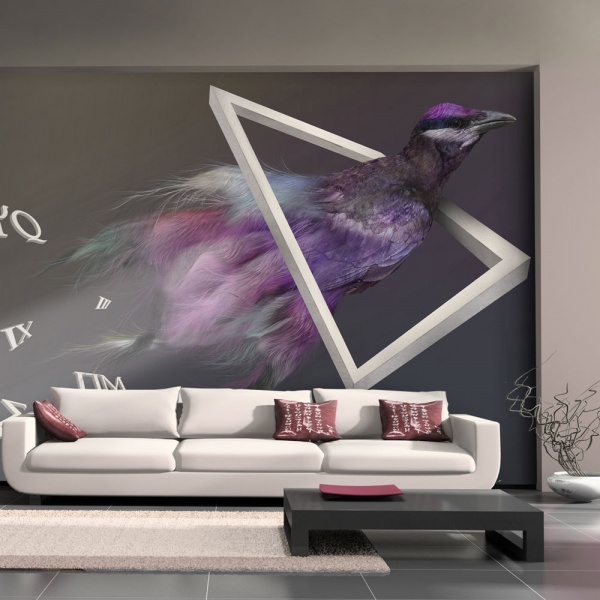 Fototapeta - ptak (abstrakcja) (200x154 cm) A0-LFTNT0863