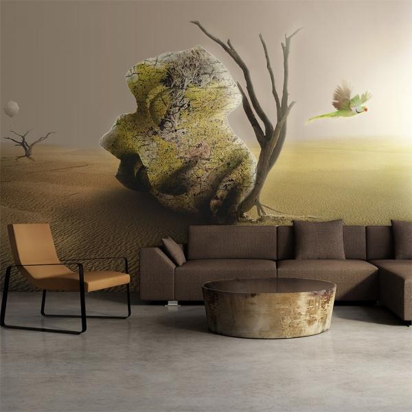Fototapeta - pustynia - motyw abstrakcyjny (450x270 cm) A0-F4TNT0056-P