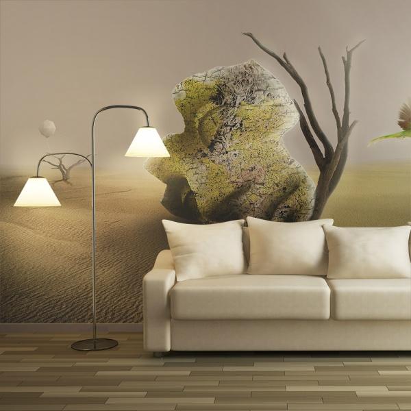 Fototapeta - pustynia - motyw abstrakcyjny (550x270 cm) A0-F5TNT0029-P