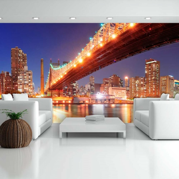 Fototapeta - Queensborough Bridge - New York (550x270 cm) A0-F5TNT0020-P