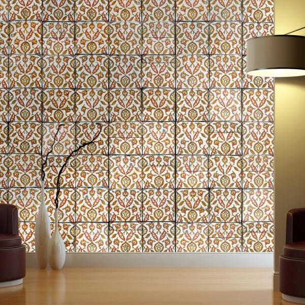 Fototapeta - Rdzawy deszcz (50x1000 cm) A0-WSR10m185