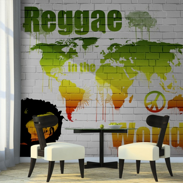 Fototapeta - Reggae in the world (200x154 cm) A0-LFTNT0789