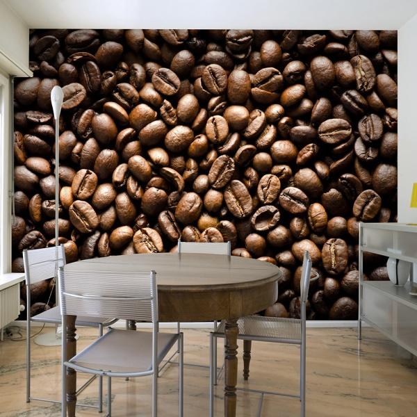 Fototapeta - Roasted coffee beans (200x154 cm) A0-LFTNT0883