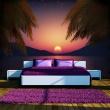 Fototapeta - Romantyczny wieczór na plaży A0-XXLNEW011138