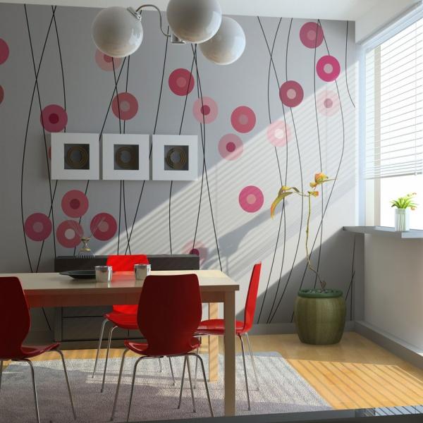 Fototapeta - Różane guziki (200x154 cm) A0-LFTNT0858