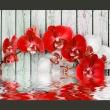 Fototapeta - Rubinowa orchidea A0-XXLNEW010121