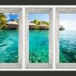 Fototapeta - Samotna wyspa A0-XXLNEW010213