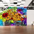 Fototapeta - Scary graffiti A0-XXLNEW010655