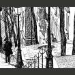Fototapeta - schody - Montmartre A0-F5TNT0014-P