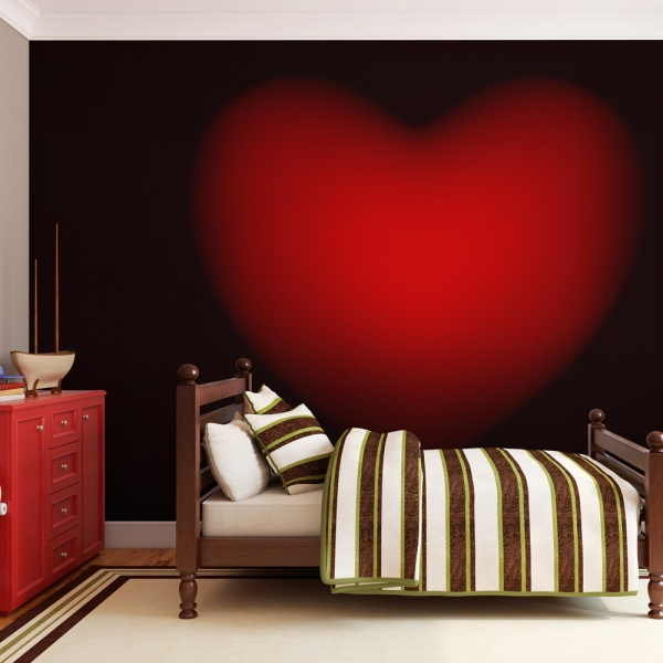 Fototapeta - Shape of my heart (200x154 cm) A0-LFTNT0663